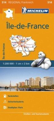 Michelin Karte Ile-de-France