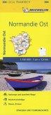 Michelin Karte Normandie Ost; Eure, Seine-Maritime