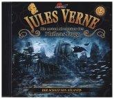 Die neuen Abenteuer des Phileas Fogg - Der Schatz von Atlantis, 1 Audio-CD