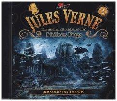 Die neuen Abenteuer des Phileas Fogg - Der Schatz von Atlantis, 1 Audio-CD - Verne, Jules