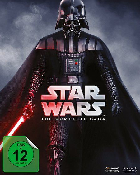 Star Wars: The Complete Saga (9 Discs)