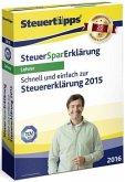 SteuerSparErklärung 2016 (für Steuerjahr 2015) für Lehrer