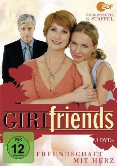 Girlfriends - Freundschaft mit Herz - 6. Staffel DVD-Box