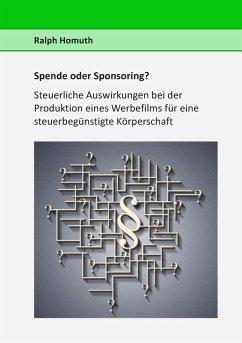 Spende oder Sponsoring? (eBook, ePUB)