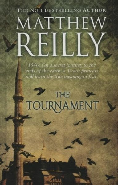 The Tournament by Matthew Reilly (CD, Audio Book, 2013) gb1