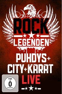 Rock Legenden Live - Puhdys,City,Karat