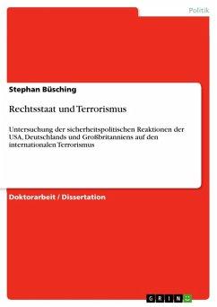 Rechtsstaat und Terrorismus (eBook, ePUB)
