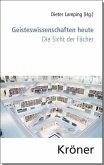 Geisteswissenschaft heute (eBook, PDF)