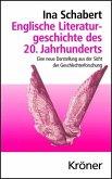 Englische Literaturgeschichte des 20. Jahrhunderts (eBook, PDF)