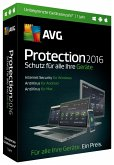 AVG Protection 2016 (Unbegrenzte Geräte / 1 Jahr)