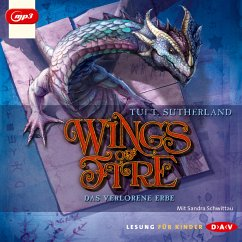 Das verlorene Erbe / Wings of Fire Bd.2 (MP3-Download) - Sutherland, Tui T.