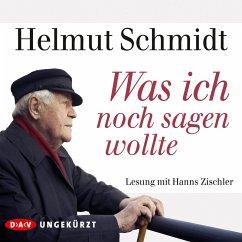 Was ich noch sagen wollte (MP3-Download) - Schmidt, Helmut
