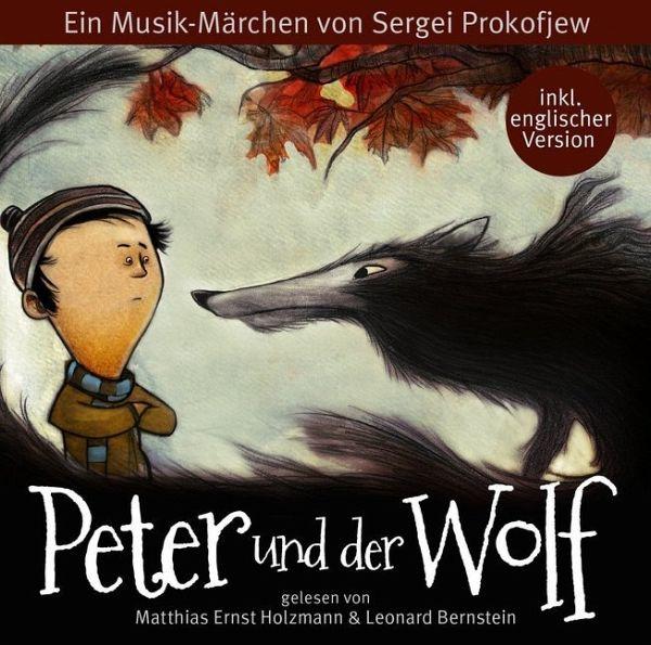 Peter Und Der Wolf 1 Audio Cd Von Sergej Prokofjew border=