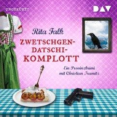 Zwetschgendatschikomplott / Franz Eberhofer Bd.6 (MP3-Download) - Falk, Rita