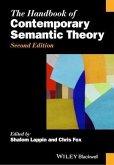 The Handbook of Contemporary Semantic Theory (eBook, PDF)