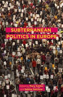Subterranean Politics in Europe (eBook, PDF)