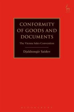 Conformity of Goods and Documents (eBook, PDF) - Saidov, Djakhongir