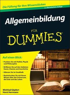 Allgemeinbildung für Dummies (eBook, ePUB) - Göpfert, Winfried; Herrmann, Horst