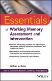 Essentials of Working Memory Assessment and Intervention (eBook, PDF)