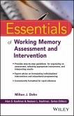 Essentials of Working Memory Assessment and Intervention (eBook, ePUB)
