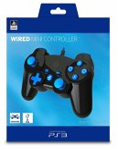 Wired Mini Controller für PS3 - Schwarz/Blau (Offiziell lizensiert)