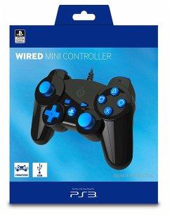 PlayStation 3 Mini-Controller - Schwarz/Blau (Offiziell lizensiert)
