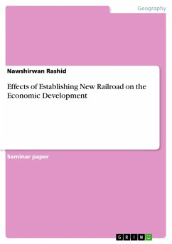 Effects of Establishing New Railroad on the Economic Development