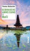 Gebrauchsanweisung für Bali (eBook, ePUB)