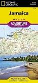 National Geographic Adventure Travel Map Jamaica