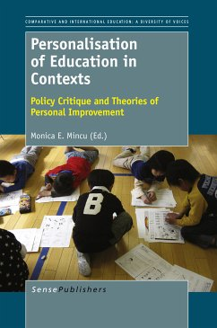 Personalisation of Education in Contexts (eBook, PDF)