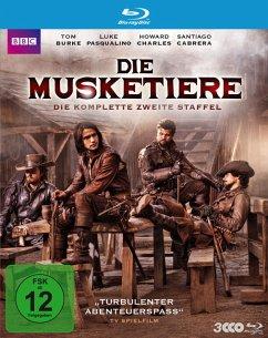 Die Musketiere - Die komplette zweite Staffel - Pasqualino,Luke/Charles,Howard/Cabrera,Santiago/+