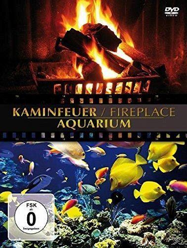 kaminfeuer aquarium auf dvd portofrei bei b. Black Bedroom Furniture Sets. Home Design Ideas