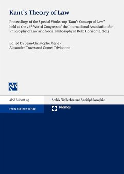 Kant's Theory of Law (eBook, PDF)