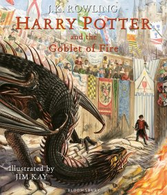 Harry Potter and the Goblet of Fire. Illustrated Edition - Rowling, J. K.