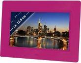 Braun DigiFrame 709 pink 17,8 cm (7 Zoll) Bilderrahmen (800 x 480 Pixel, 16:9 / 4:3 Seitenverhältnis)