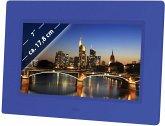 Braun DigiFrame 709 blau 17,8 cm (7 Zoll) Bilderrahmen (800 x 480 Pixel, 16:9 / 4:3 Seitenverhältnis)