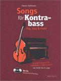 Songs für Kontrabass - Rock, Pop, Jazz, Folk, Gospel, m. 2 Audio-CDs