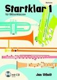 Startklar für Bläserklassen, Baritone, m. Audio-CD