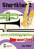 Startklar für Bläserklassen, Orchester und Ensemble, Posaune, m. Audio-CD