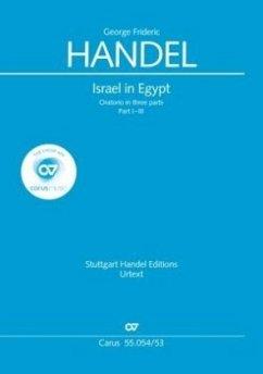 Israel in Egypt, Klavierauszug - Händel, Georg Friedrich