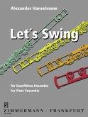 Let's Swing, 7 Flöten, Partitur und Stimmen