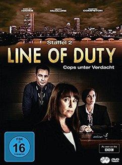 Line of Duty - Cops unter Verdacht, Staffel 2 (2 Discs) - Compston,Martin/Mcclure,Vicky/Dunbar,A.