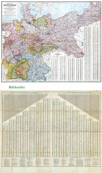 Karte Deutsches Reich 1914.General Karte Deutsches Reich Deutschland 1910
