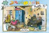 Janosch Puzzle, Die Bremer Stadtmusikanten, 70 Teile (Kinderpuzzle)