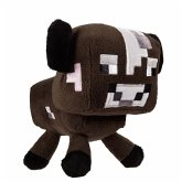 Minecraft Braune Kuh Stofftier (Plüsch)