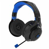 Gioteck FL-400 FLOW Wireless RF Stereo Headset - Schwarz/Blau