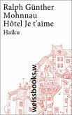 Hôtel Je t'aime (eBook, ePUB)