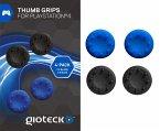 Gioteck Analog Thumb Grips - 4er Pack - Schwarz/Blau