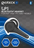 LP-1 Loop - Bluetooth Mono Chat-Headset (PS3/PS4) - Schwarz