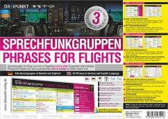 Sprechfunkgruppen - Phrases for Flights - Schulze, Michael